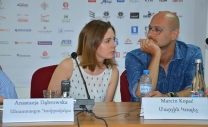 Press Conference with Marcin Kopec and Anastazja Dąbrowska