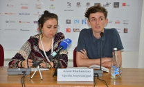 Press Conference with  Arseni Khachaturyan